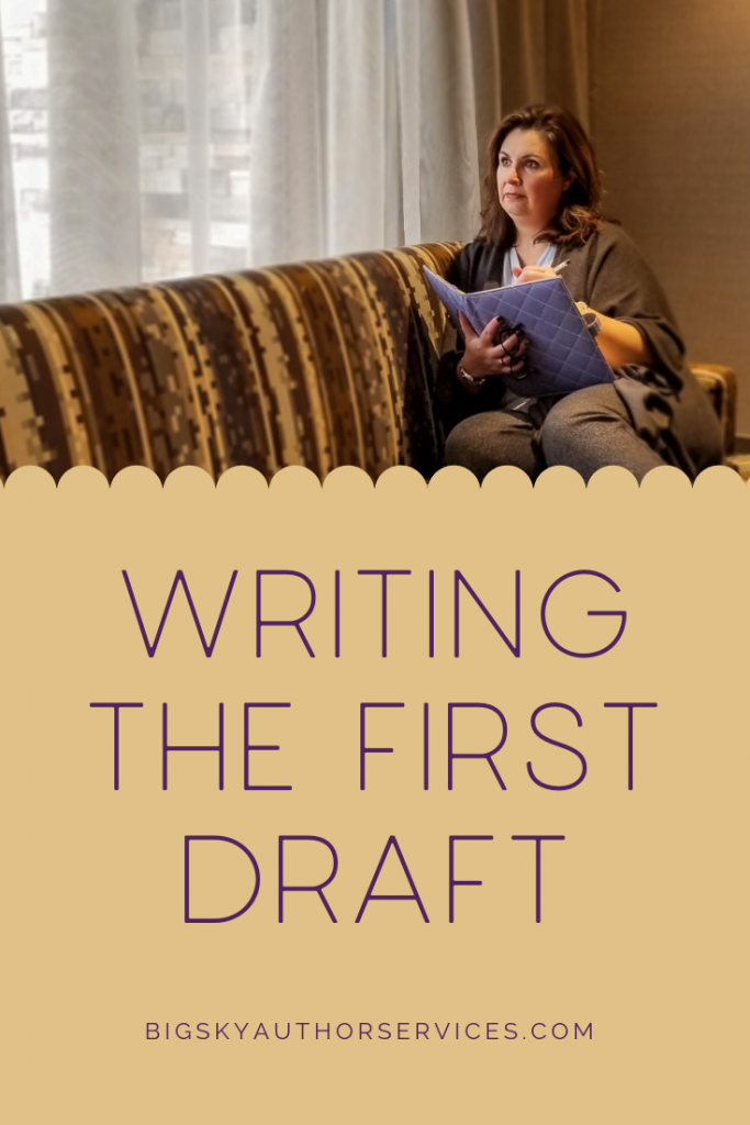 Writing the First Draft | Tammy Plunkett